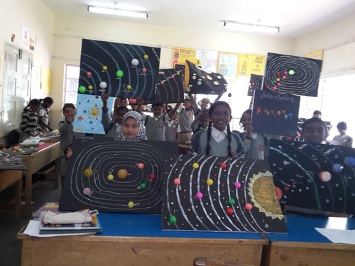 Solar System Model Making By Ananthipaul2002 Teaching