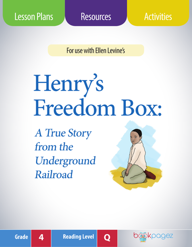 Henry's Freedom Box Lesson Plans & Activities Package, Fourth Grade (CCSS)