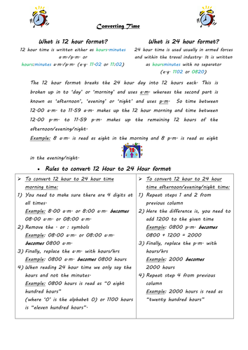 Time Worksheets » Time Worksheets Year 6 - Preschool and ...