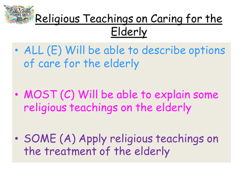 Religious Views on Caring For the Elderly