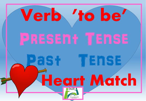 FREE St Valentine's verb 'to be' activity for EAL/ ESL students