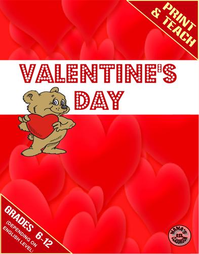 ♥ESL♥ VALENTINE'S DAY » Mini Units for ESL Students