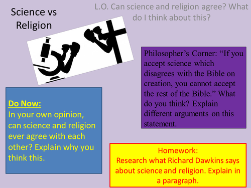 can science replace religion Over the past few centuries, science can be said to have gradually chipped away at the traditional grounds for believing in god much of what once seemed mysterious — the existence of humanity, the life-bearing perfection of earth, the workings of the universe — can now be explained by biology, astronomy, physics and other domains of science.