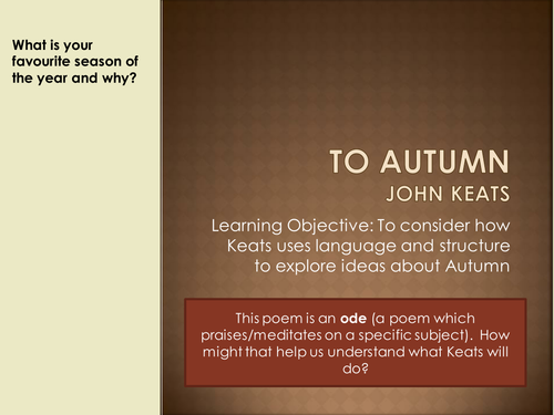 the human seasons by john keats essay Essay editing services literature john keats became one of the most revered english poets of the romantic period keats' poems and letters study guide.