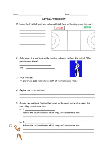 netball non participant worksheet by nathanhopkins92 teaching resources tes. Black Bedroom Furniture Sets. Home Design Ideas