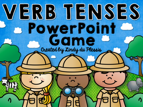 Verb Tenses PowerPoint Game
