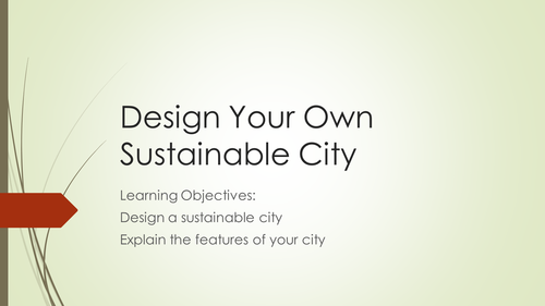 Design your own sustainable city.