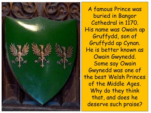 The History of Medieval Wales - Owain Gwynedd (c.1100 - 1170)