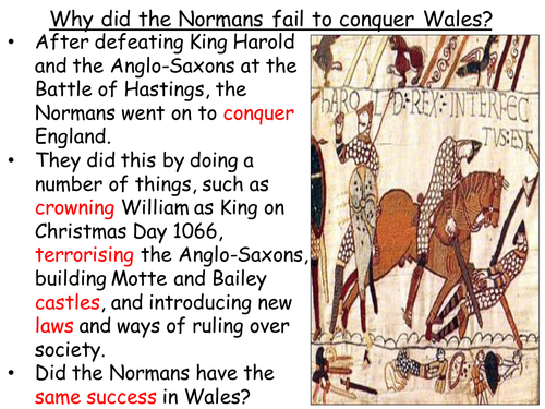 The History of Medieval Wales - Why did the Normans fail to conquer Wales? (1067-1136)