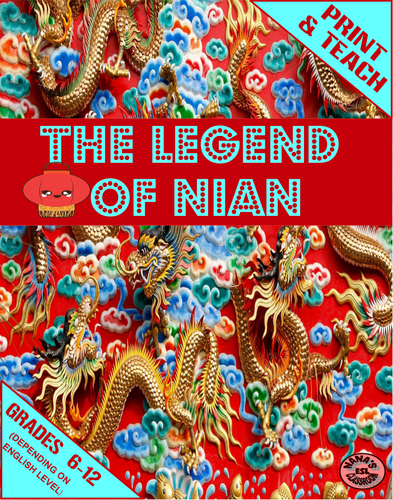 ♥ESL♥ THE CHINESE LEGEND OF NIAN » Mini Units for ESL Students