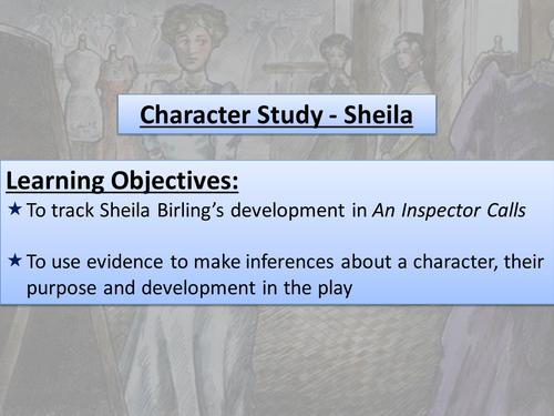 An Inspector Calls - Sheila
