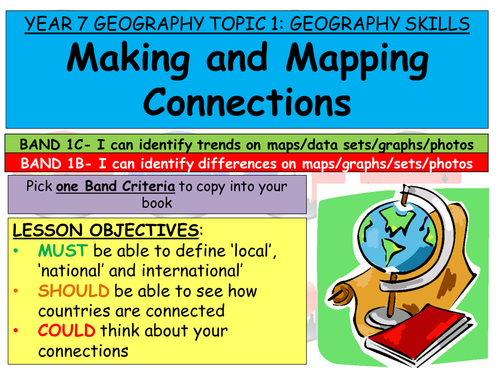 YEAR 7 GEOGRAPHY SKILLS FULL SCHEME OF LESSONS, RESOURCES AND ASSESSMENT