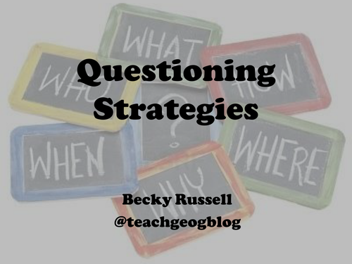 CPD Questioning Strategies