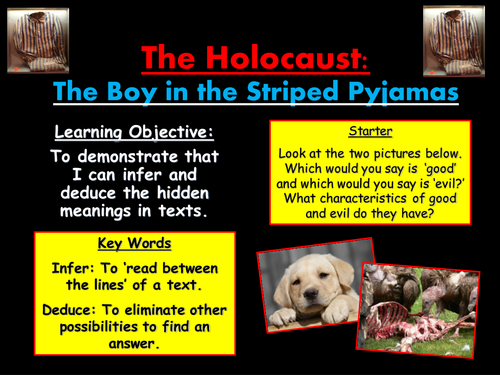 The Holocaust: The Boy in the Striped Pyjamas