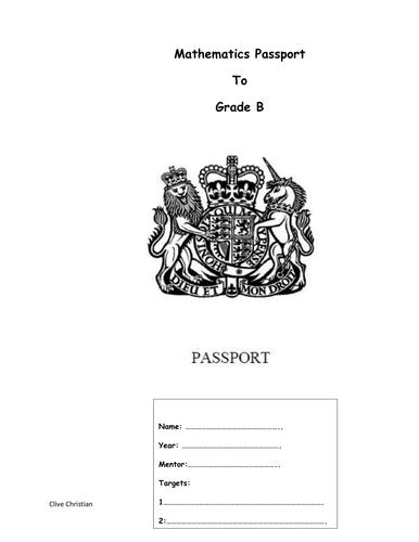 GCSE MATHS GRADE C/B REVISION BOOKLET