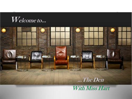 GCSE Business - The Den project