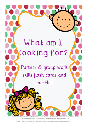 What Am I Looking For? Behaviour Flashcards