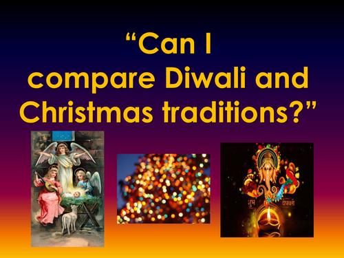 A PowerPoint presentation on Diwali