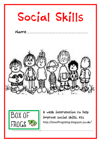 Social Skills intervention programme by boxoffrogsblog - Teaching ...