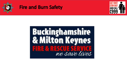 SEN Fire & Burn Safety PowerPoint