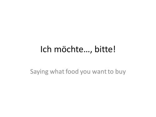 Quantities of food & drink in German