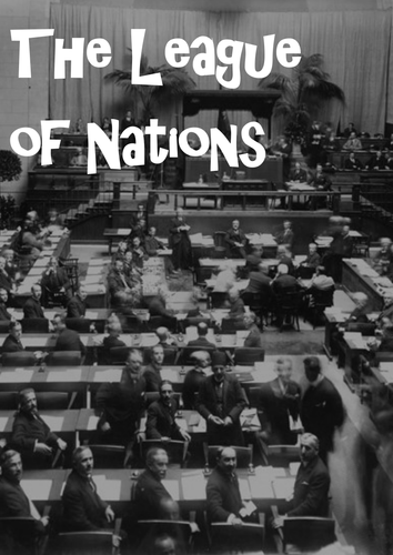 League of Nations Full Teaching Pack