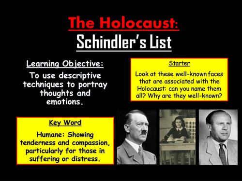 The Holocaust: Schindler's List