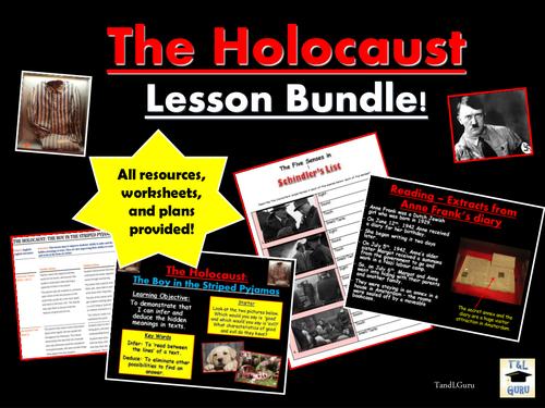 The Holocaust: Lesson Bundle!