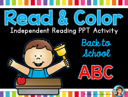 bf160c64 Back to School Read and Color PowerPoint (how we get to school) by  lindylovestoteach - Teaching Resources - Tes