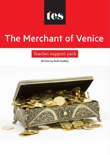 The Merchant of Venice teacher support pack