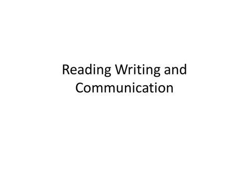 Whole School Literacy - Short Training Session