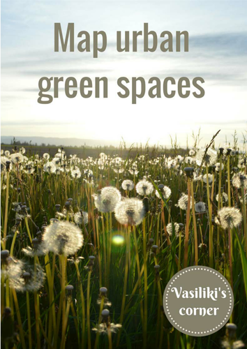 Map urban green spaces