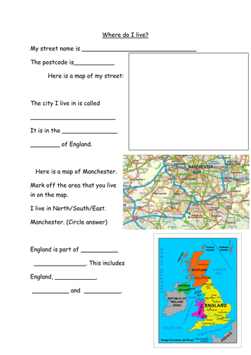 Where Do I Live Worksheet Teaching Resources Twitter share english exercise where do they live? created by lili73 with the test builder. where do i live worksheet teaching