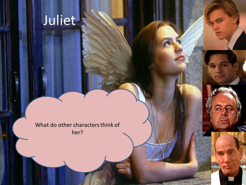 Romeo juliet love and hate for low ability set by for Romeo and juliet powerpoint template