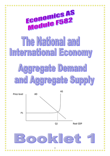 OCR A LEVEL ECONOMICS Topic 2 Aggregate Demand and Supply