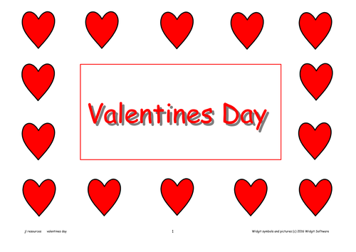 Valentines Day Activity Pack  (Text version)