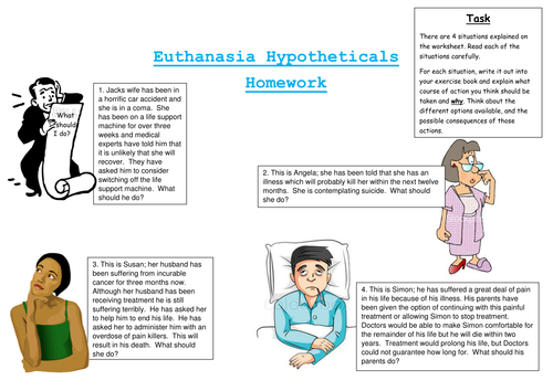Introduction To Euthanasia  - Template Lesson - Resource Pack