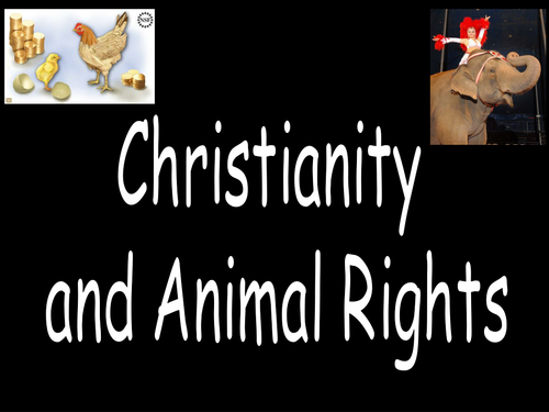 Christian Views on Animal Rights  - Template Lesson - Resource Pack