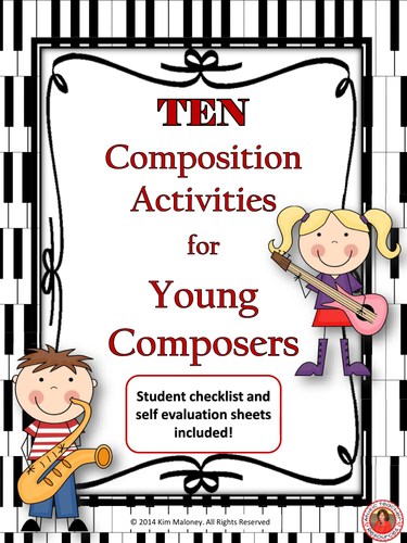Music Composition: TEN Music Composition Tasks