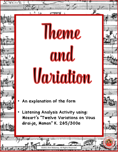 Theme and Variations Form