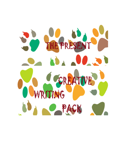"""""""The Present"""" Creative Writing Pack"""