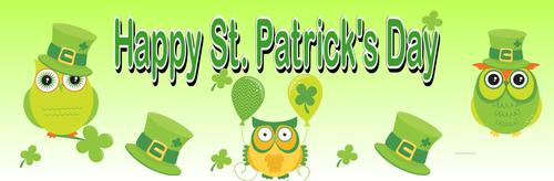 Banner-Happy St. Patrick's Day