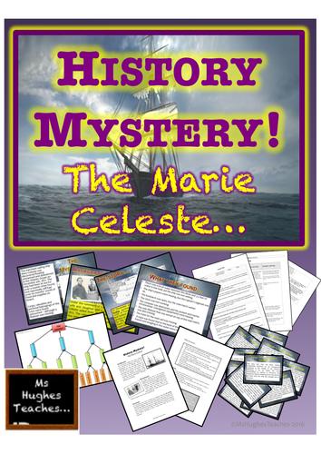 HISTORY MYSTERY - THE MARY CELESTE!