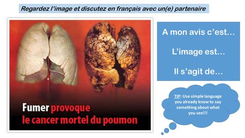 GCSE FRENCH - L'alcool, le tabagisme et la drogue