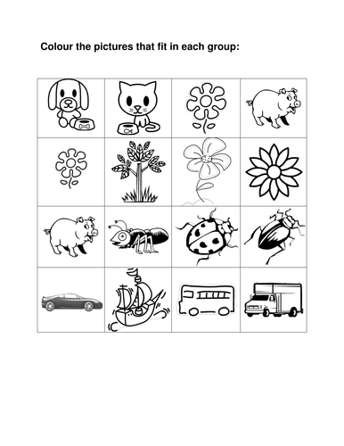 It is a picture of Effortless Printable Worksheets for Grade 1
