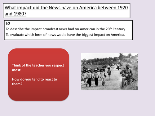 the impact of the americans with