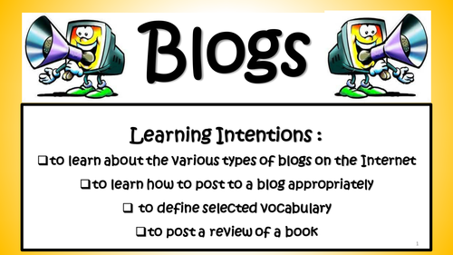 ICT / Internet: What is a Blog? Exploring Online Blogs