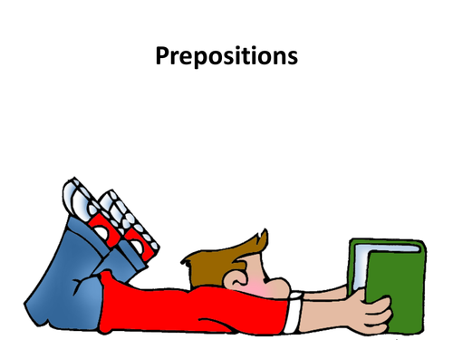 SPaG: Prepositions