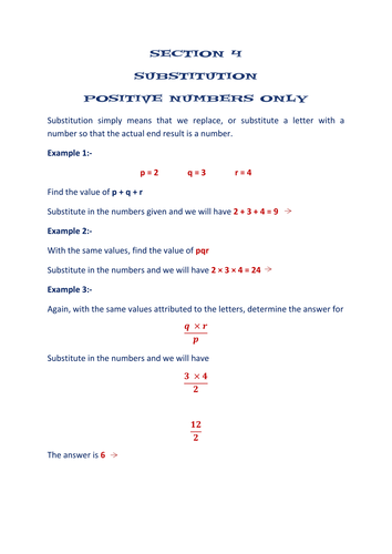 section  algebra worksheets  substitution by mathworksheets  section  algebra worksheets  substitution by mathworksheetsgalore   teaching resources  tes