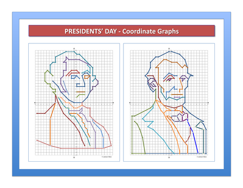 Presidents' Day - Coordinate Graphs